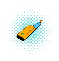 Vaporizer device icon comics style vector image vector image