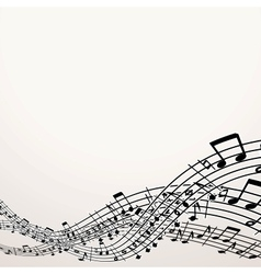 Musical background image with free space vector