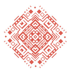 Ethnic geometric decorative pattern ornament vector
