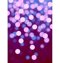 Purple festive lights background vector