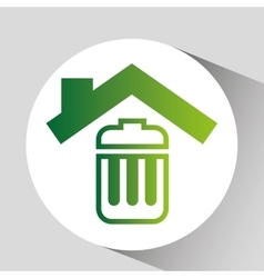 Concept environment recycle icon graphic vector