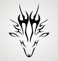 Deer tribal vector