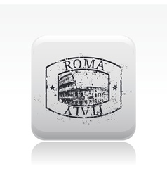 roma icon vector image vector image