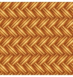 Seamless pattern wicker light straw color vector image