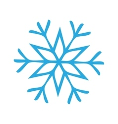 Snowflake Icon graphic vector image vector image