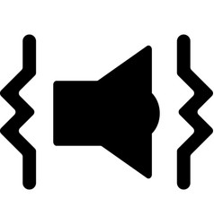 Tech mobile smart phone sound vibrate mode icon vector