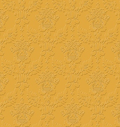 Royal seamless pattern damask background vector
