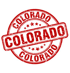 Colorado stamp vector