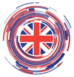 uk icon vector image vector image