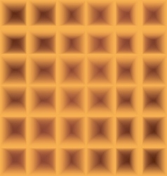 Square waffle cell six by six background vector