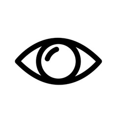 Eye look vision optical icon graphic vector