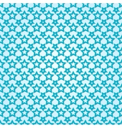 abstract background seamless pattern with stars vector image vector image