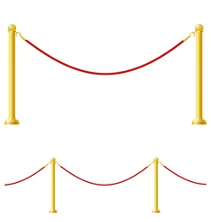 barrier vector image vector image