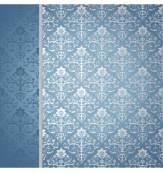 blue and silver background vector image