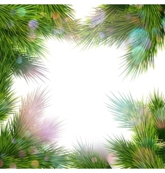 Frame of tree branches EPS 10 vector image vector image