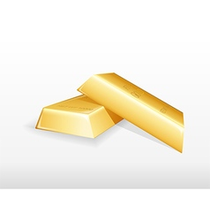 Gold bar background vector