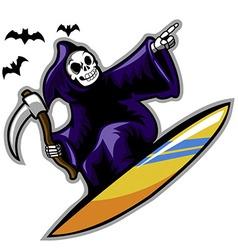 Grim surfer vector