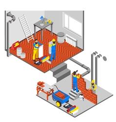 Interior repairs composition vector