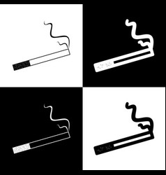 smoke icon great for any use black and vector image vector image