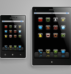 Modern gadgets vector image