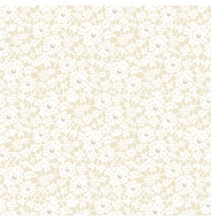Lace pattern with pearls vector