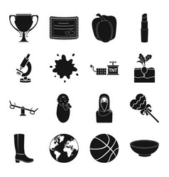 Medicine astronomy entertainment and other web vector