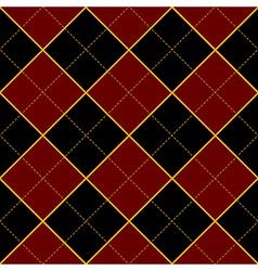 Royal red black diamond background vector