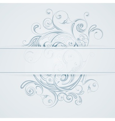 patterned background vector image