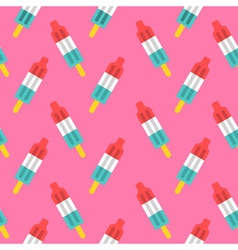 Popsicle pattern vector