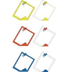 Push pin 03 vector