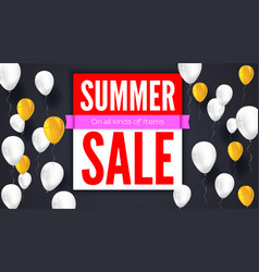 Sale text banner ready to print and use in vector