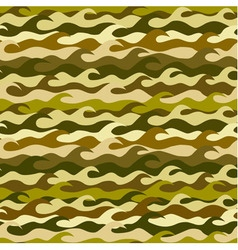 Seamless pattern made from sea waves vector image vector image