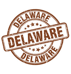 Delaware stamp vector