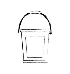 Gardening bucket icon vector