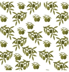 Olive seeds plant icon vector