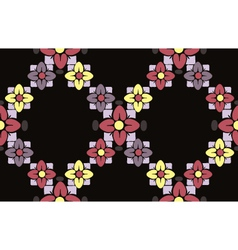 seamless flower vector image