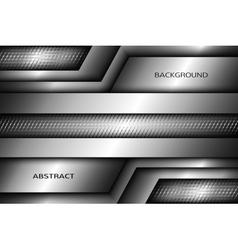 Abstract Metallic background vector image