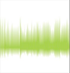 abstract green spectrum background vector image