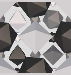 Difficult geometric shape seamless pattern vector