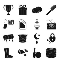 Food medicine entertainment and other web icon vector