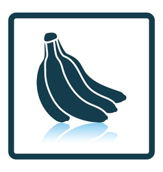 Icon of banana vector