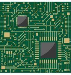 seamless microcircuit vector image vector image