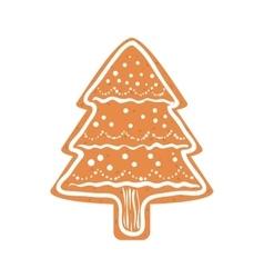 Cookie icon merry christmas design vector