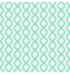 Decorative spiral rope seamless pattern vector image vector image