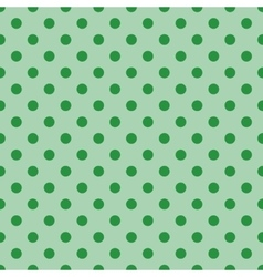 seamless Polka dot background vector image
