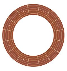 Round guitar fretboard vector