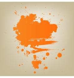 Artistic paint banner vector