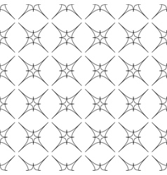 Star geometric seamless pattern 5011 vector image