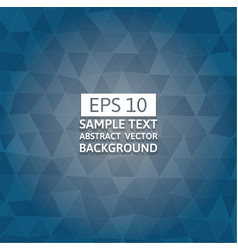 Blue polygon abstract background graphic design vector