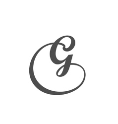 Letter g logo design template vector